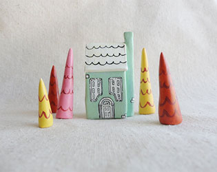 FAIRYTALE CLAY TREASURES FROM THE FOREST DOOR