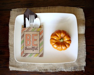 12 DANDY THANKSGIVING TABLE CRAFTS