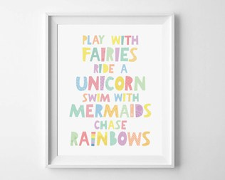 11 HAPPY PLAYROOM PRINTS AND DECALS
