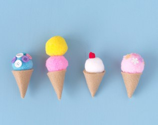12 OF THE SWEETEST ICE CREAM CRAFTS EVER
