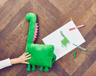THESE ADORABLE STUFFED TOYS FROM IKEA ARE DESIGNED BY KIDS