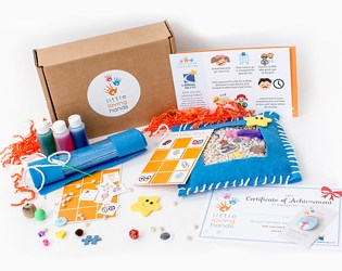 LITTLE LOVING HANDS' CRAFT KITS FOR A CAUSE IS A GREAT WAY FOR KIDS TO GIVE BACK