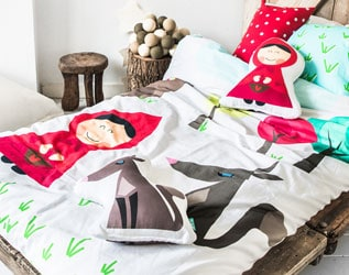 FALL ASLEEP IN A STORYBOOK: CUTE BEDDING FOR KIDS