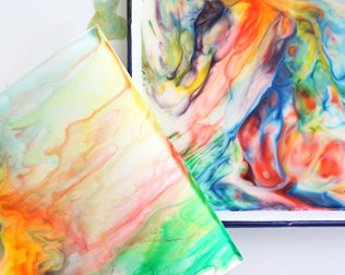 12 VIBRANT RAINBOW ART IDEAS