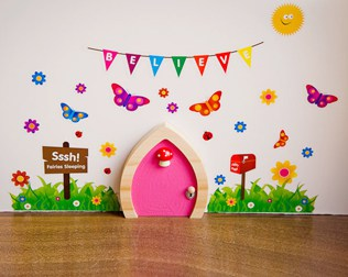 MAGICAL HANDCRAFTED WOODEN FAIRY DOORS FROM MY OWN FAIRY