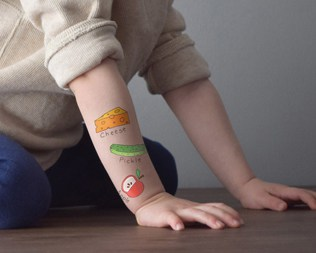 EDUCATIONAL TEMPORARY TATTOOS FOR KIDS FROM WUNDERCUB