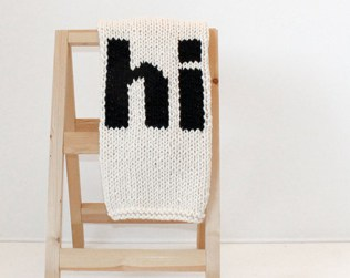 MODERN KNIT BABY BLANKETS FROM YARNING MADE