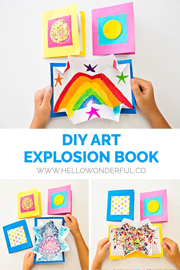 DIY Art Explosion Book