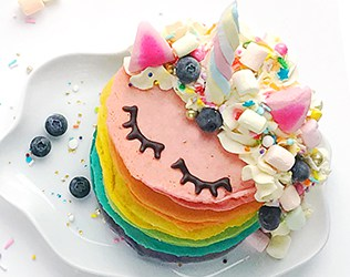 Unicorn-Rainbow-Pancakes