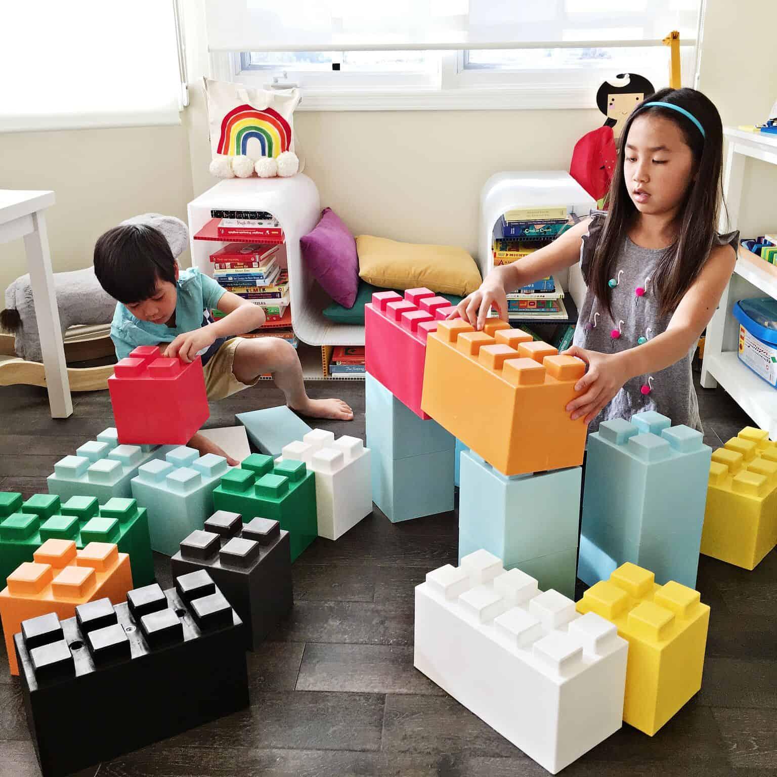 Giant Lego Like Building Block Toys For Kids Hello Wonderful