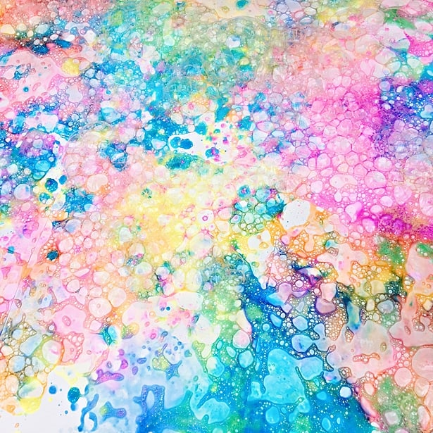 Bubble Art Projects For Toddlers