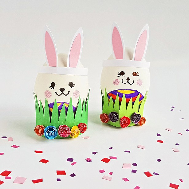 Cute And Easy Easter Egg Bunny Craft Hello Wonderful
