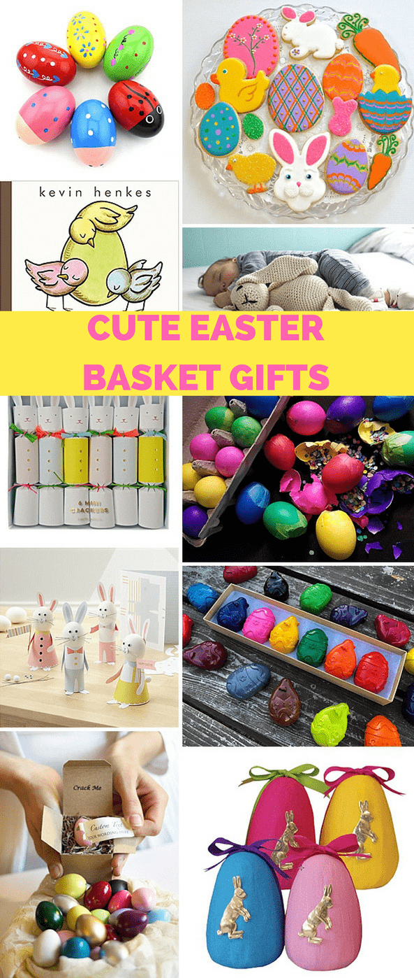 Cute easter basket gifts for kids hello wonderful from sweets to keepsakes your childs easter basket will be filled with some of their favorite things with these cute easter basket gifts for kids negle Choice Image