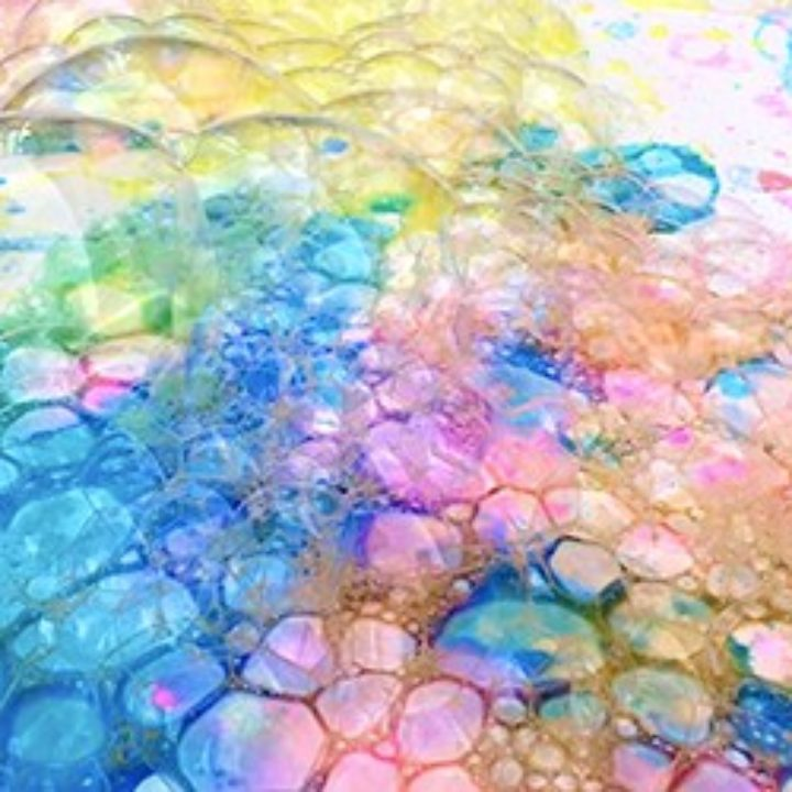RECYCLED BOTTLE BUBBLE ART WITH KIDS - Hello Wonderful