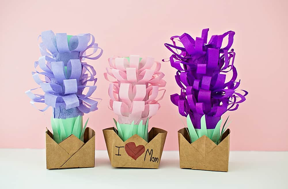 Paper tissue hyacinth flower pots hello wonderful scroll down to watch the video below to see how easy it is make these pretty tissue paper hyacinth flower pots and make sure to subscribe to our youtube mightylinksfo