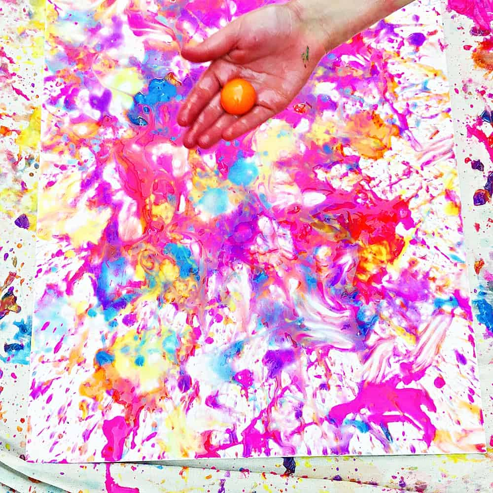 Have you tried paint ball painting