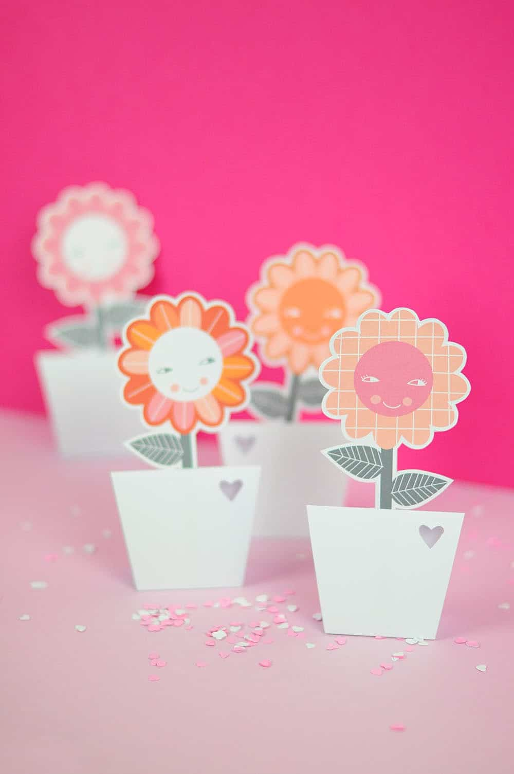 Paper flower vases with free printable hello wonderful paper flower vases with free printable materials mightylinksfo