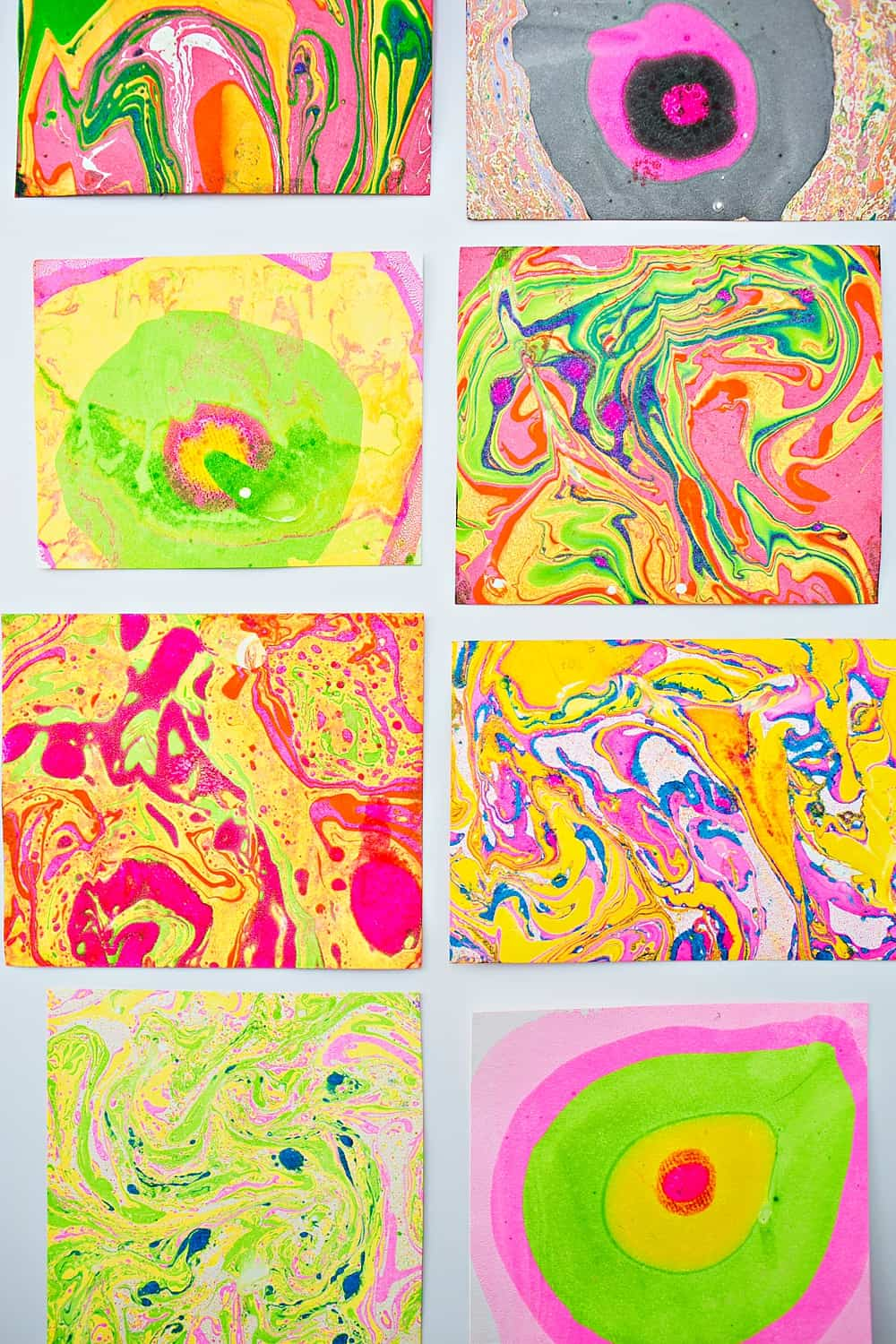 EASY DIY PAPER MARBLING AT HOME - Hello Wonderful