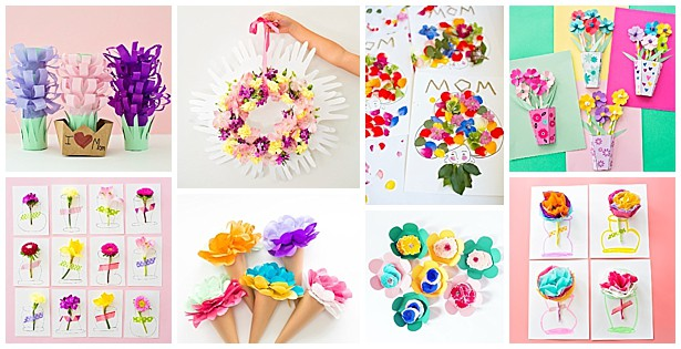 10 Beautiful Flower Art Projects For Kids Hello Wonderful