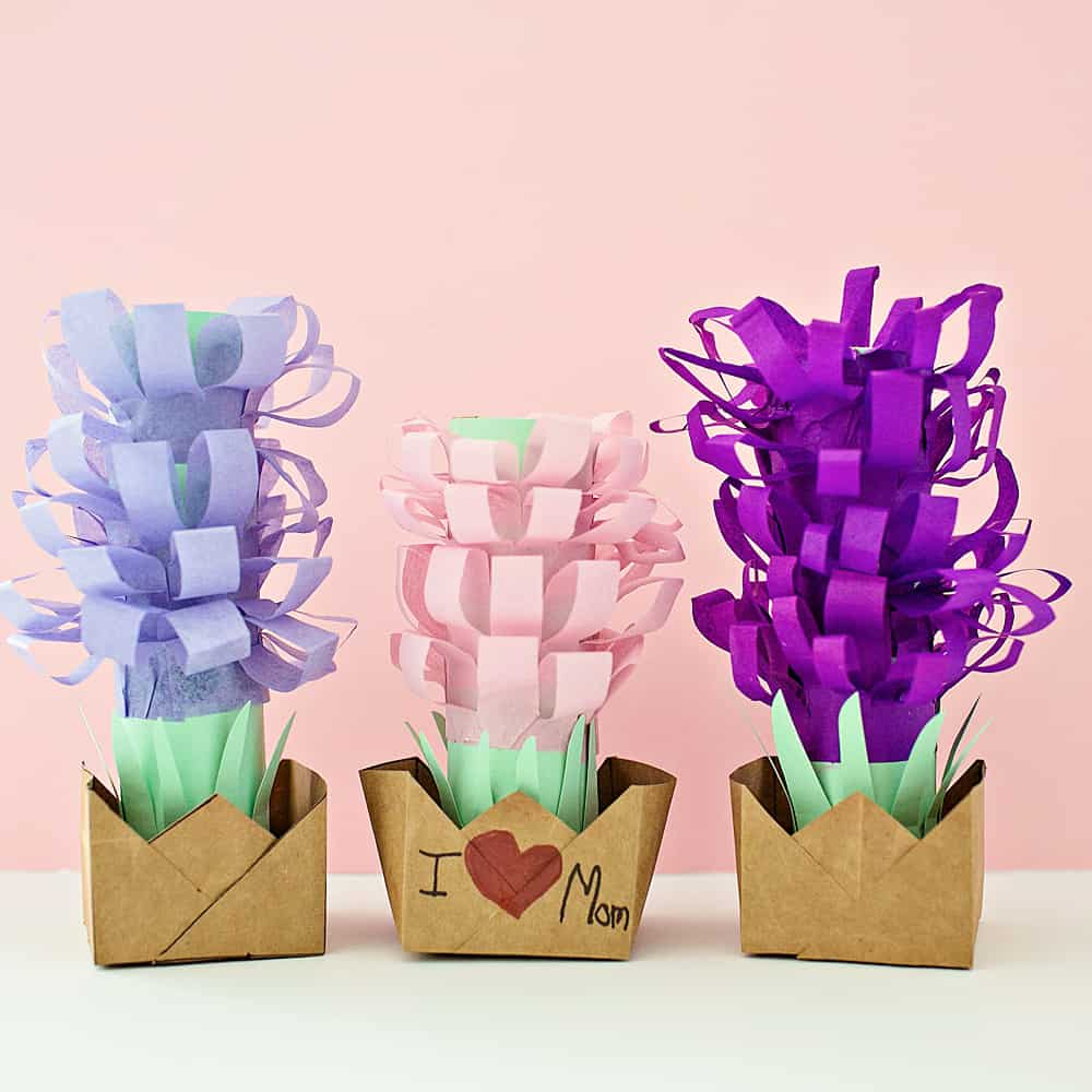 Paper Tissue Hyacinth Flower Pots Hello Wonderful