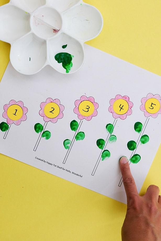 FLOWER LEARNING PRINTABLE - Hello Wonderful