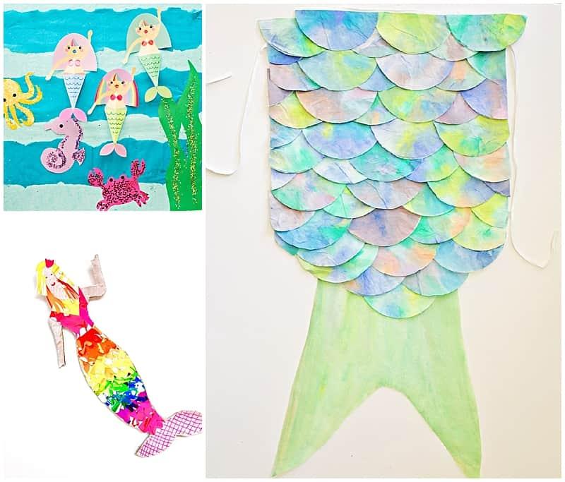 10 Mesmerizing Mermaid Crafts Hello Wonderful