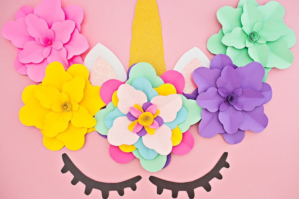 Diy Unicorn Flower Backdrop Hello Wonderful