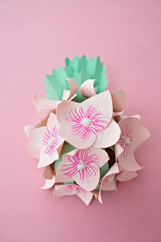 Diy Paper Hydrangea Flowers Hello Wonderful