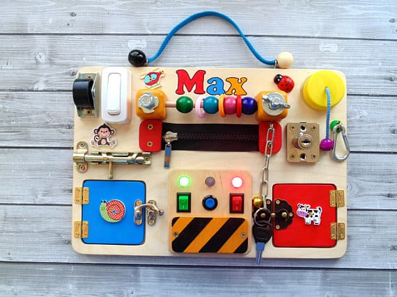 HANDMADE BUSY BOARDS AND FIDGET TOYS FOR KIDS - Hello ...