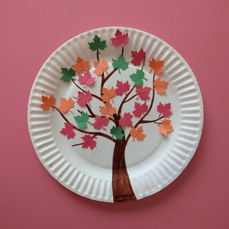 Magnetic Fall Tree Craft Hello Wonderful