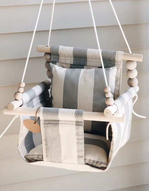 Handmade Wooden Baby Swings Hello Wonderful