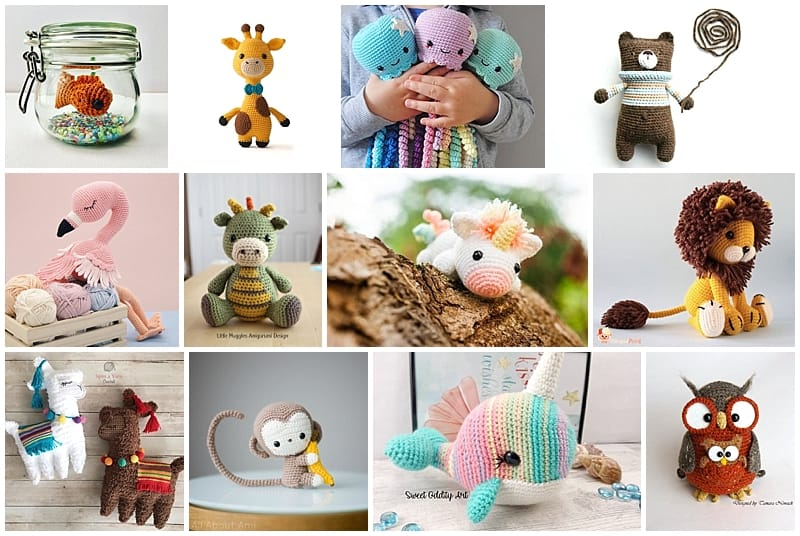 20 Free Amigurumi Patterns to Melt Your Heart | 536x800