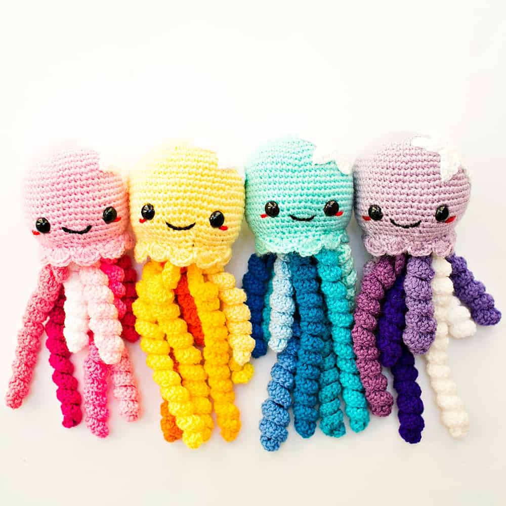 móhu — dumbo octopus amigurumi pattern I have another... | 1000x1000