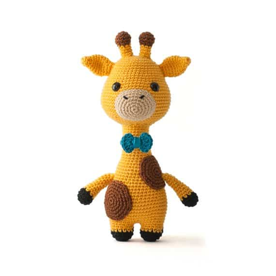 giraffe cute animal crochet toy pattern