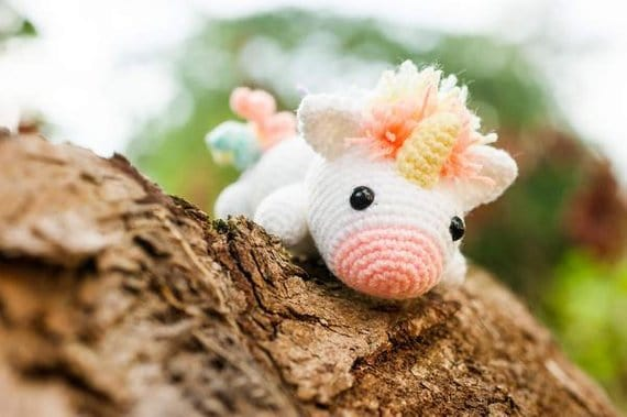 unicorn cute crochet toy pattern