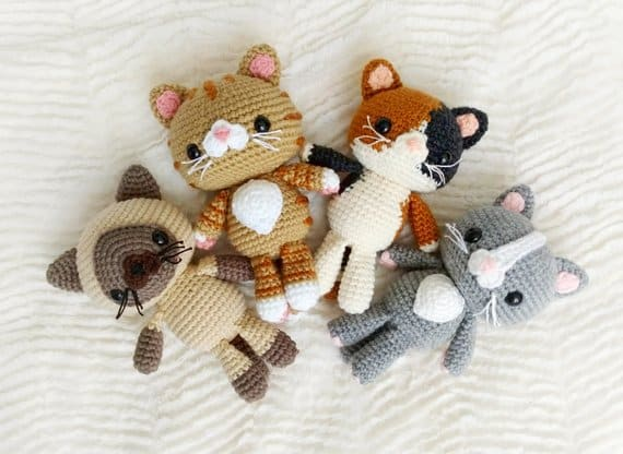 15 Cute Animal Crochet Toy Patterns Hello Wonderful