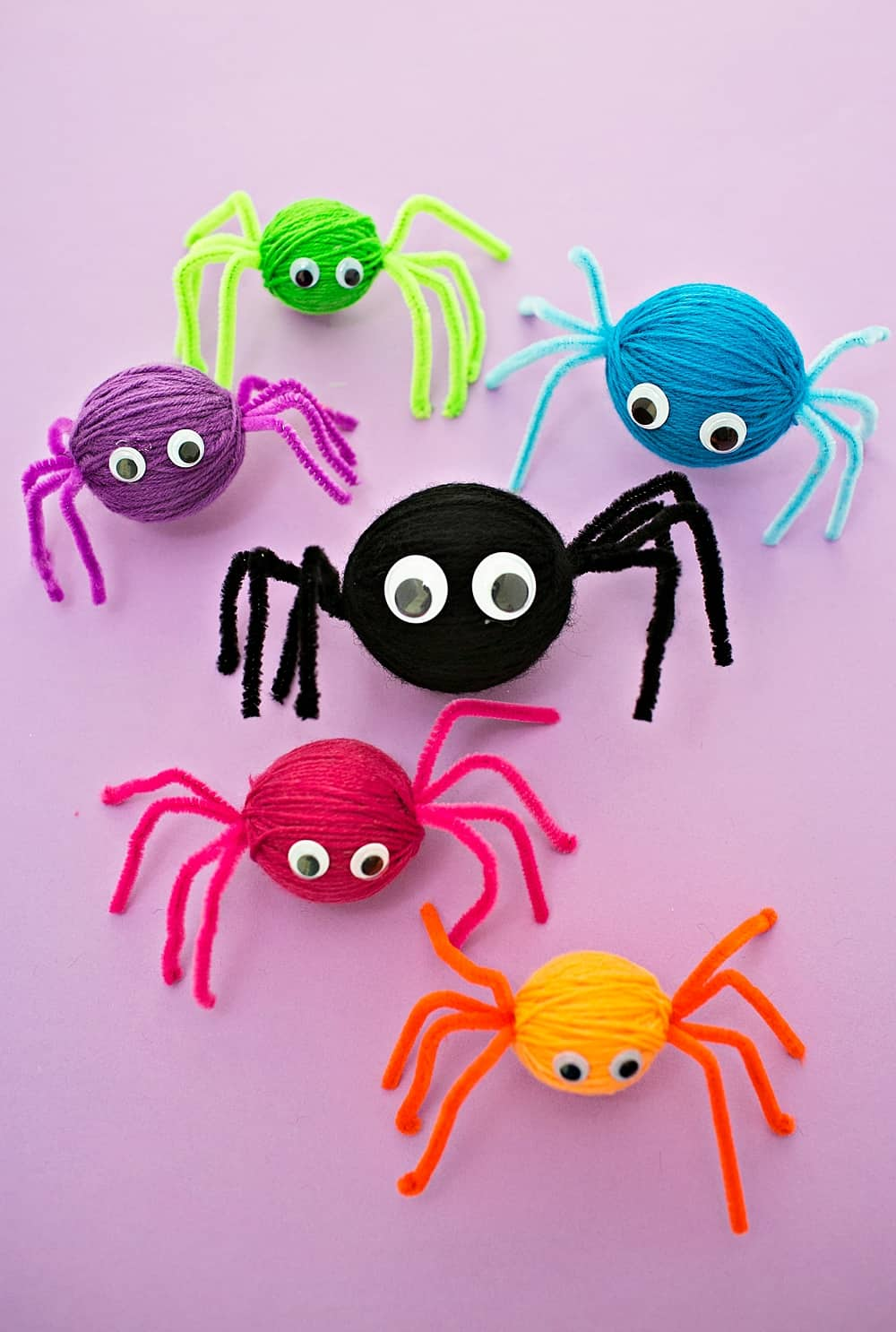 Yarn Spider Craft Hello Wonderful
