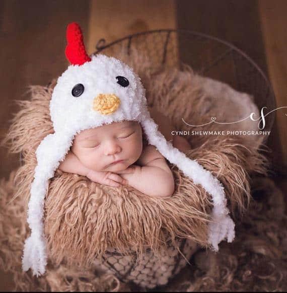 newborn chicken halloween costume