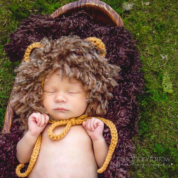 newborn baby lion halloween costume