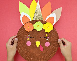 How To Make A Thanksgiving Turkey Craft