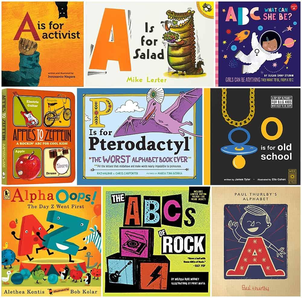 15 UNIQUE ABC ALPHABET BOOKS FOR KIDS - Hello Wonderful