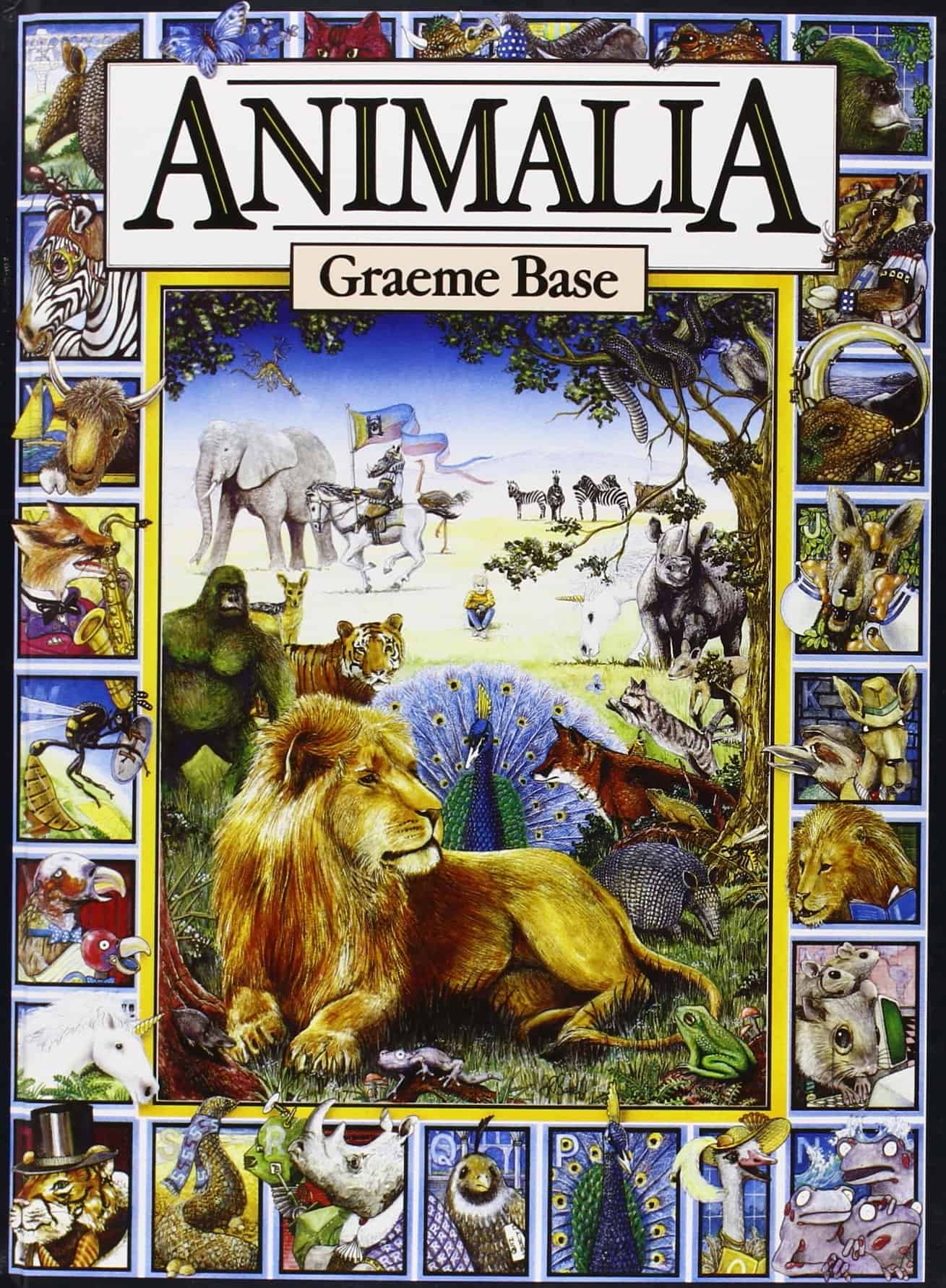 animalia alphabet book