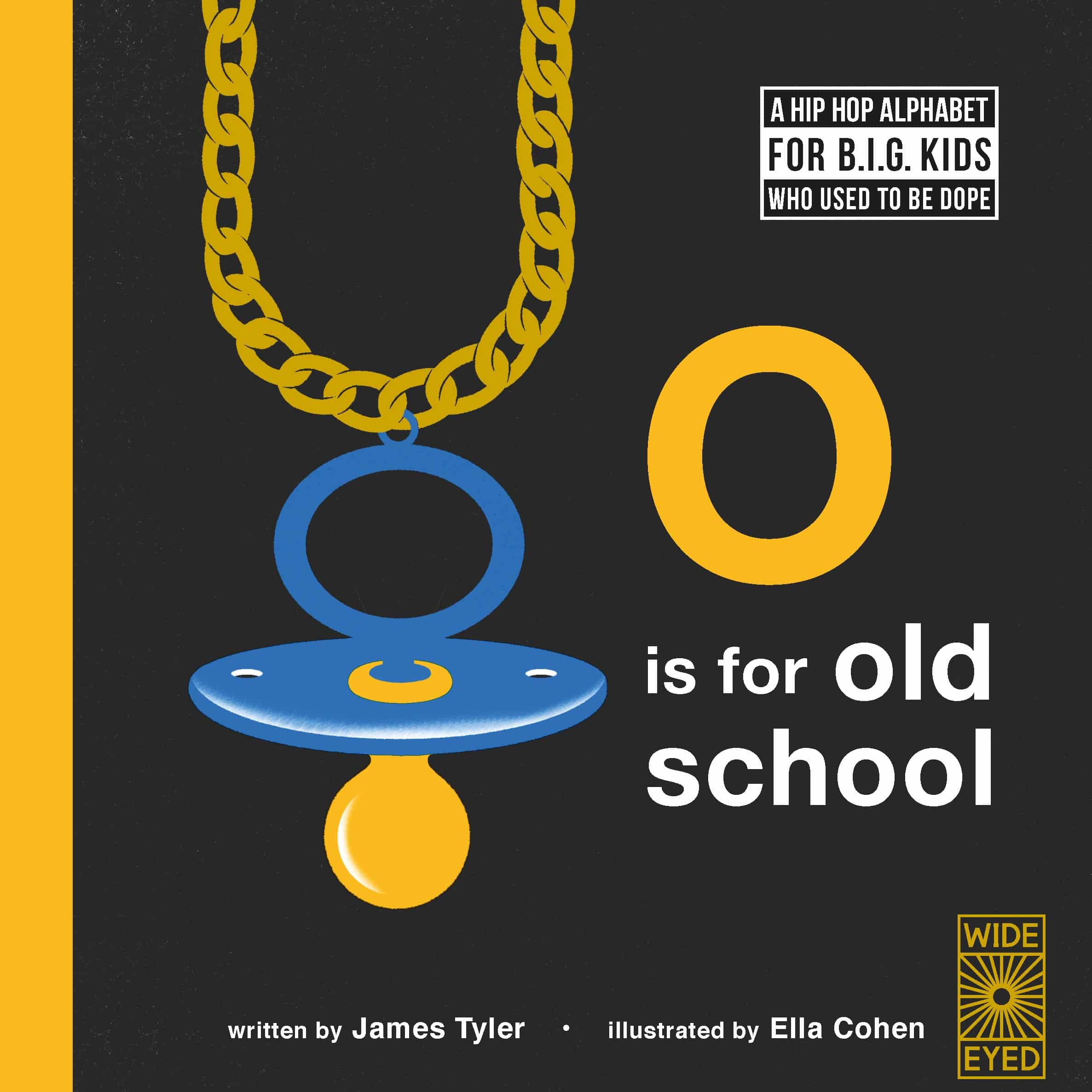 O is for Old School alphabet book