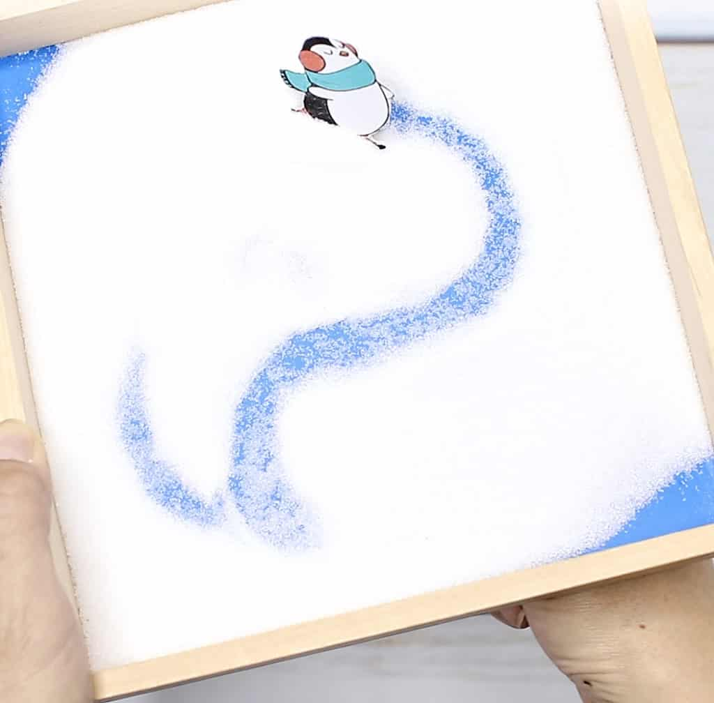 Magnetic Ice Skating Penguin Letter Writing Activity Hello Wonderful