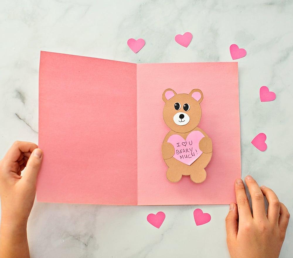 3D Valentine's Day card