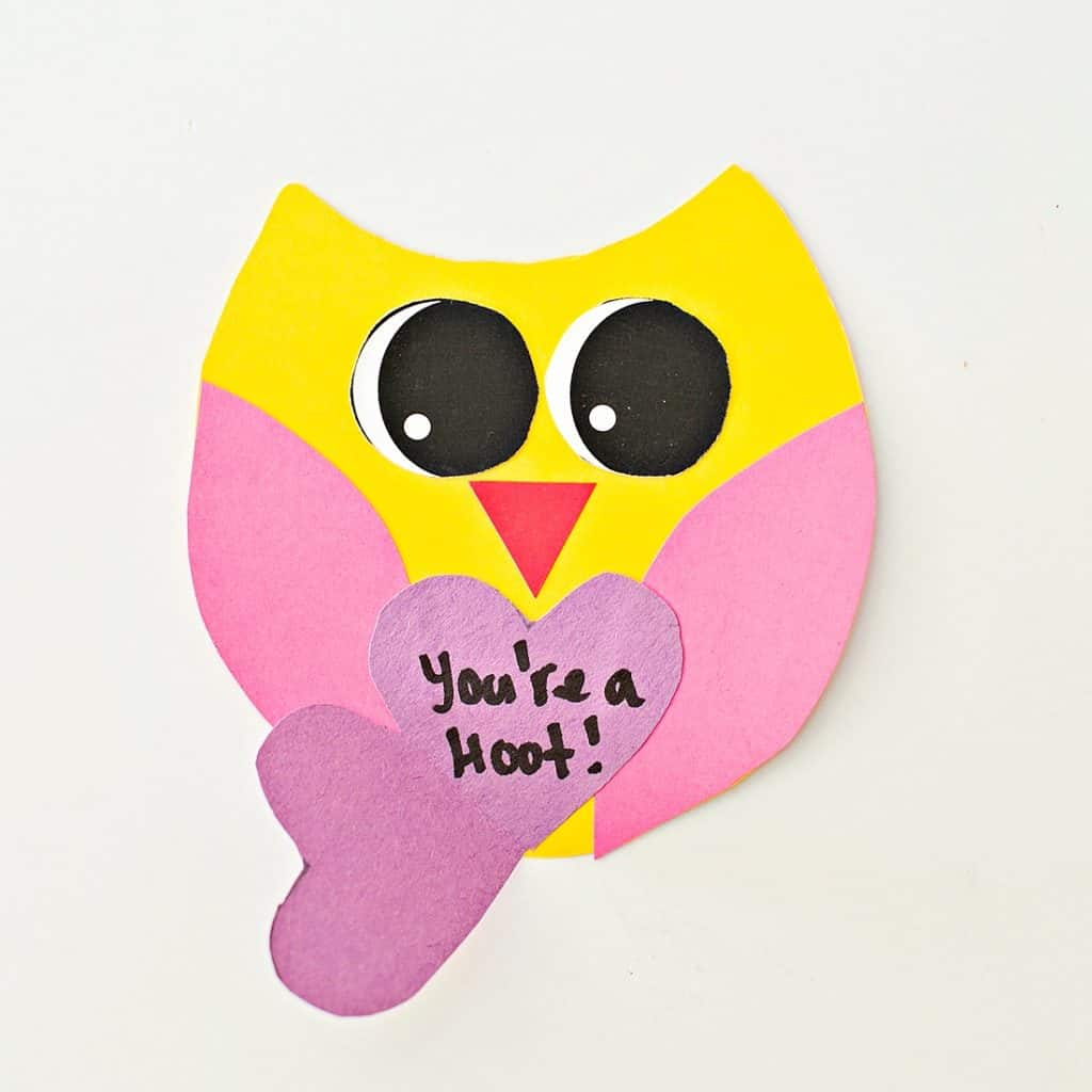 """You're a """"hoot"""" card"""