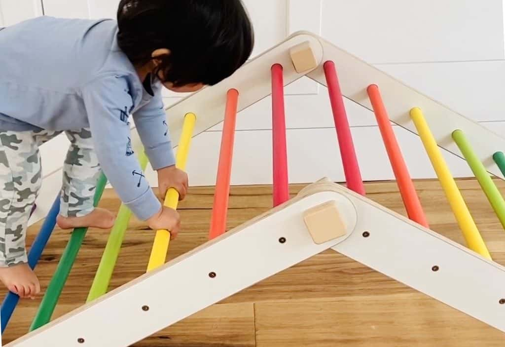 Rainbow Pikler Triangle