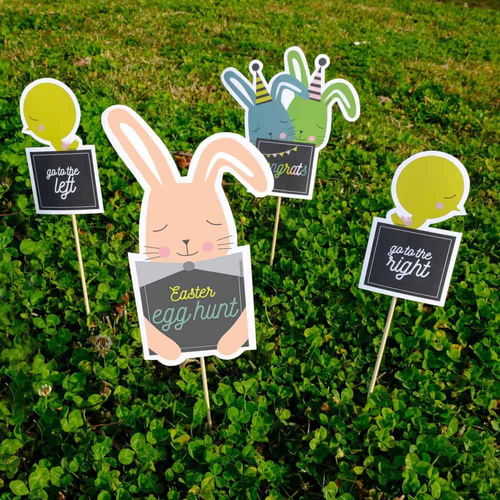 Printable Easter Egg Hunt Game Hello Wonderful