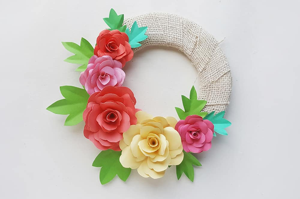 How to Make a Flower Crown with Tissue Paper - Celebrate Every Day ... | 664x1000