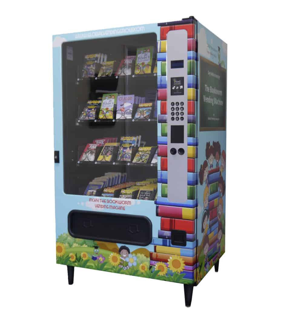 School Book Vending Machine